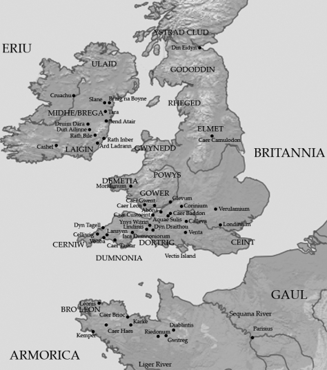 Britain in ~500 AD