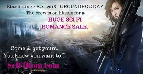 Science fiction romance sale