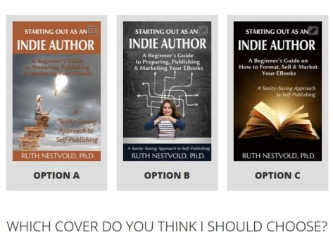 Indie author covers